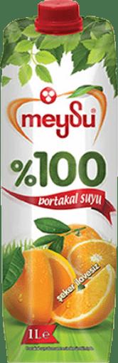 Meysu %100 Portakal 1 Lt resmi