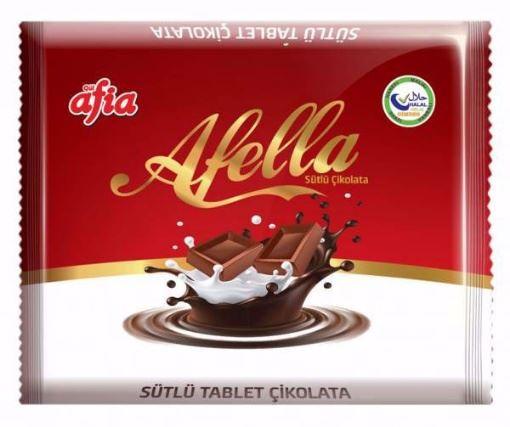 Afia Afella Sütlü Çikolata 30 Gr resmi