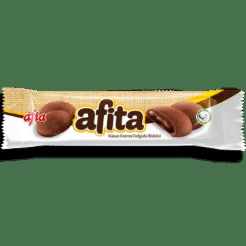 Afia Afita Kakao Krema Dolgulu Bisküvi 80 Gr resmi