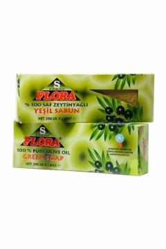 Flora Zeytinyağlı Yeşil Sabun 2x200 Gr resmi