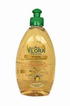 Flora Eritilmiş Zeytinyağlı Sabun 500 Ml resmi