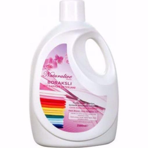 Naturalive Borakslı Sıvı Çamaşır Makinesi Deterjanı 2.5 Lt resmi
