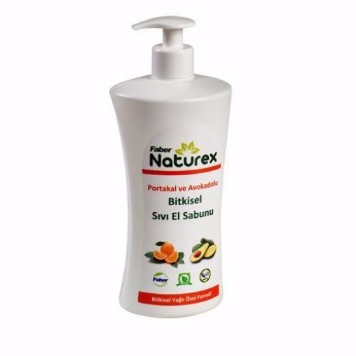 Naturex Sıvı El Sabunu Portakal/Avakado 1 Lt resmi