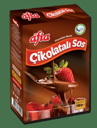 Afia Çikolatalı Sos 100 Gr resmi
