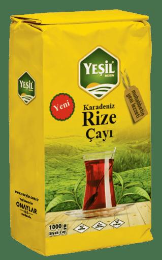 Yeşil Mersin Karadeniz Rize Çayı 1000 Gr resmi