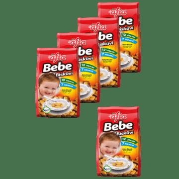[Kutu] Bebe Bisküvisi 150 Gr (12 Adet) resmi