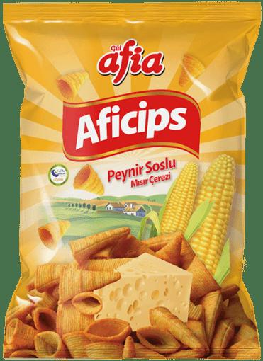 Aficips Peynirli Mısır Cipsi 50 gr resmi