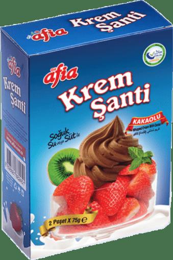 Afia Krem Şanti Kakaolu 75 Gr (2 Adet) resmi