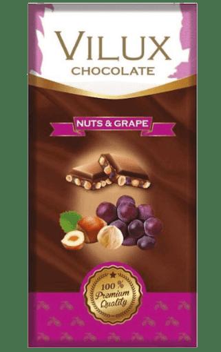 Milat Vilux Kuru Üzüm Fındıklı Çikolata 70 Gr resmi