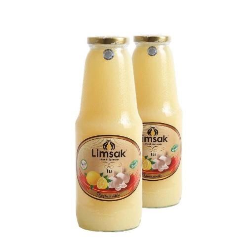 Limsak Limon-Sarımsak Kürü (2 Adet Özel Cam Şişede) 2 Lt resmi