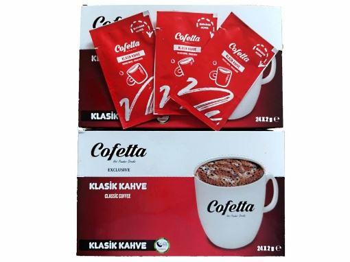 [Kutu] Cofetta Klasik Kahve 2 Gr (24 Adet) resmi