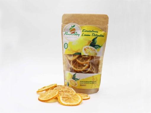 Nuri Bey Çiftliği Kurutulmuş Limon Dilimleri 50 Gr resmi