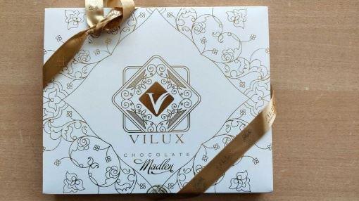 Milat Vilux Elips Madlen Çikolata 240 Gr resmi