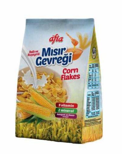 Afia Mısır Gevreği Corn Flakes 450 Gr resmi